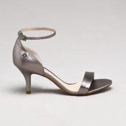 CAPODARTE SANDALIA DE TACON 4009436 SILVER silver