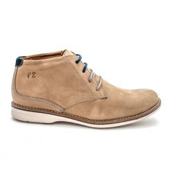 LONDRES MID BOOT cimento/blue