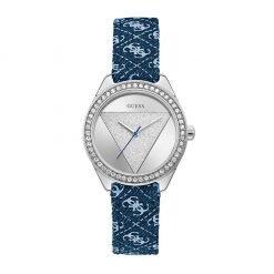 TRI GLITZ silver blue