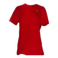 ESS TEE SS N°2 W pur rouge