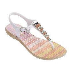 JEWELL II SA beige/white/pink