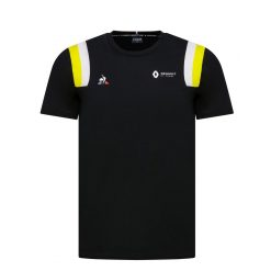 RENAULT FANWEAR 20 TEE SS M black/empire yellow