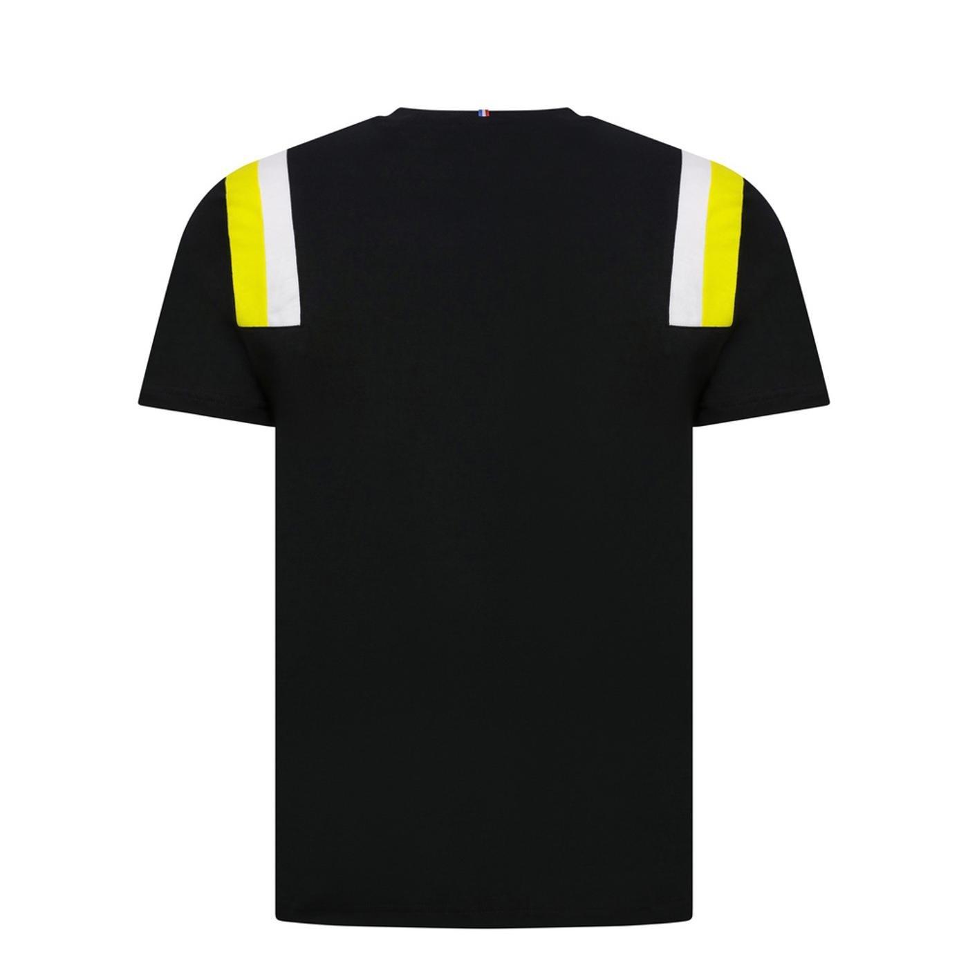RENAULT FANWEAR 20 TEE SS M black/empire yellow