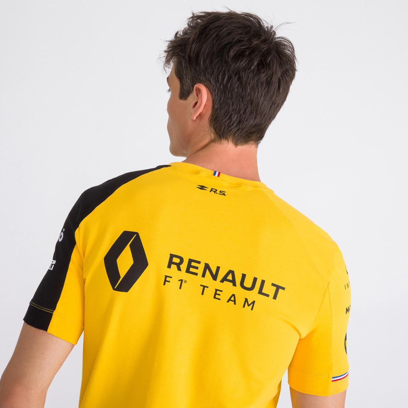 RENAULT TEE SS N1 M amber yellow