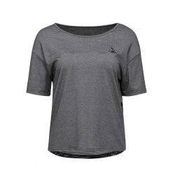 TECH TEE LOOSE SS N°2 W gris chiné st